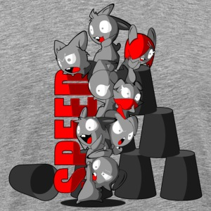 bunny_speed_stack T-Shirts - Men's Premium T-Shirt