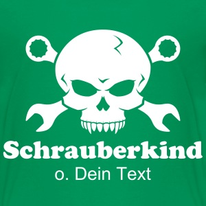 Skull 'n' Tools - Schraub'pirat 2  T-Shirts - Teenager Premium T-Shirt