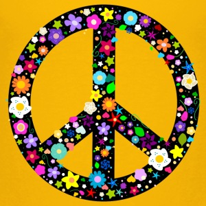 Flower Peace Sign Shirts - Kids' Premium T-Shirt