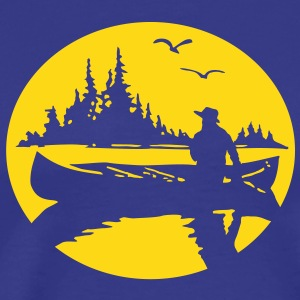 Canoe Kayak Canada Fishing Outdoor 3 tshirt  T-Shirts - Men's Premium T-Shirt