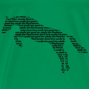 horsewords2 T-shirts - Herre premium T-shirt