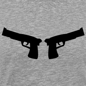 guns T-Shirts - Men's Premium T-Shirt