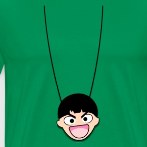 Funny face Necklace - T-shirt Premium Homme