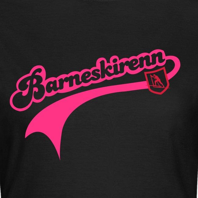 Barneskirenn dame t-skjorte