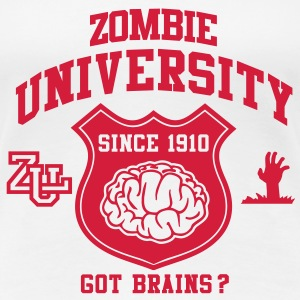 Zombie University T-Shirts - Frauen Premium T-Shirt