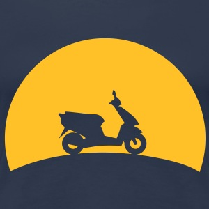 Scooters in the sunset  T-Shirts - Women's Premium T-Shirt