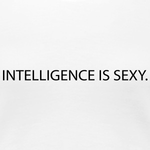 intelligence is sexy Tee shirts - T-shirt Premium Femme