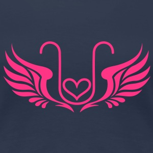Kryon Crystal Elexier - UNCONDITIONAL LOVE /wings/ Tee shirts - T-shirt Premium Femme