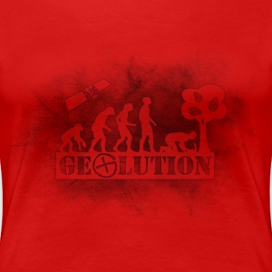 Geolution-dark-grunge T-Shirts - Frauen Premium T-Shirt