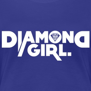diamond girl T-shirts - Vrouwen Premium T-shirt