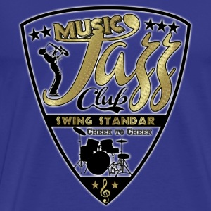 music jazz club swing standar T-Shirts - Men's Premium T-Shirt