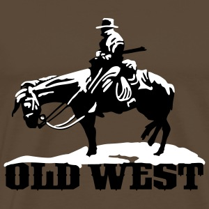 old west cowboy T-Shirts - Men's Premium T-Shirt