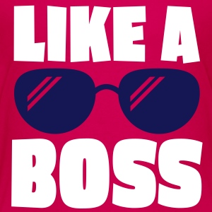 like a boss 2c Shirts - Kids' Premium T-Shirt