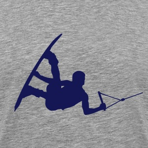 wakeboarder_14 T-Shirts - Men's Premium T-Shirt