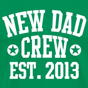 NEW DAD CREW EST 2013 T-Shirt WG - Mannen Premium T-shirt