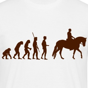 Evolution Horse T-Shirts - Men's T-Shirt