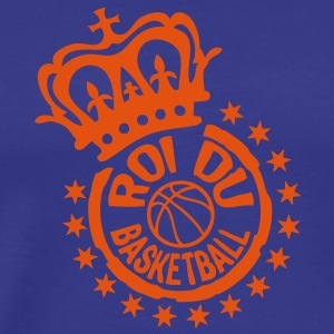 roi2 king basketball couronne crown tamp Tee shirts - T-shirt Premium Homme