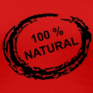 100 % Natural - Frauen Premium T-Shirt