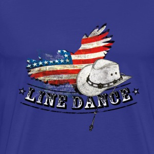 linedance - Men's Premium T-Shirt