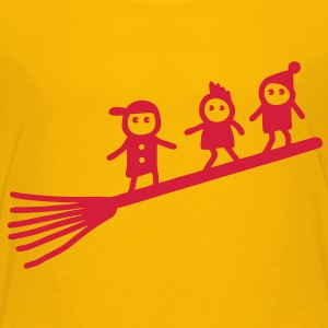 broom surfers Shirts - Kids' Premium T-Shirt