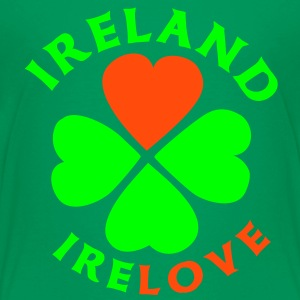 Ireland Love T-Shirts - Teenager Premium T-Shirt