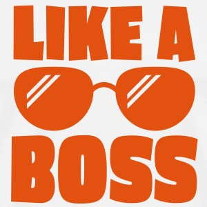 like a boss 1c T-shirts - Mannen Premium T-shirt