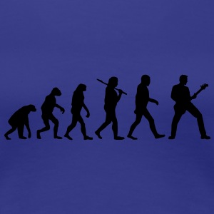 evolution of bass T-Shirts - Frauen Premium T-Shirt