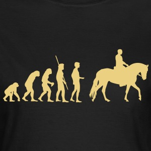 Evolution Pferd Shirt for Girls - Frauen T-Shirt