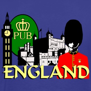 England London Big Ben Queens Guards tower london - Men's Premium T-Shirt