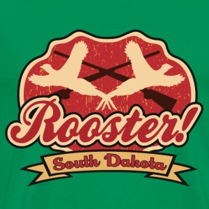 rooster_pheasant_sd Tee shirts - T-shirt Premium Homme