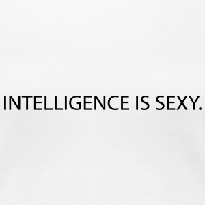 intelligence is sexy T-Shirts - Women's Premium T-Shirt