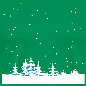 Christmas Winter Wonder Land Tee shirts - T-shirt Premium Homme