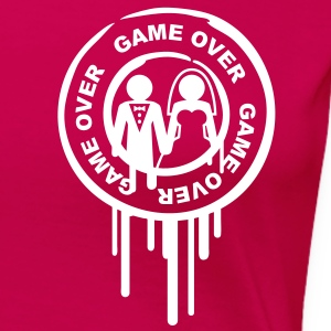 game_over_marriage_stamp T-Shirts - Women's Premium T-Shirt