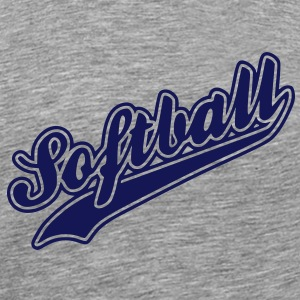 softball T-Shirts - Men's Premium T-Shirt