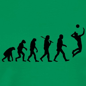evolution of volleyball T-Shirts - Männer Premium T-Shirt