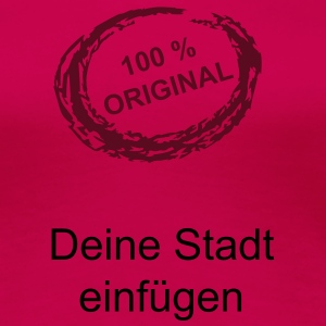 100 % Original - Frauen Premium T-Shirt