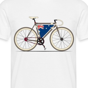 Australian Fixed Gear Bike T-Shirts - Men's T-Shirt