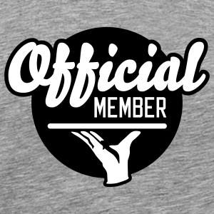 Official Member | Mitglied T-Shirts - Mannen Premium T-shirt