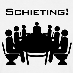 Schieting (Scheiß-Meeting) - Männer T-Shirt