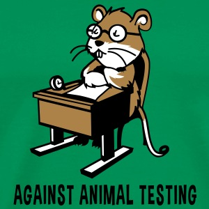 Against Animal Testing - Men's Premium T-Shirt