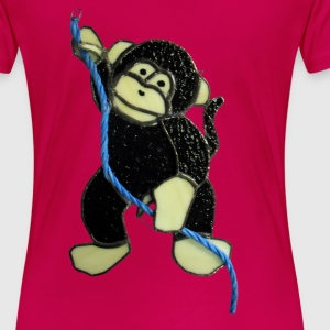Cheeky monkey - Women's Premium T-Shirt