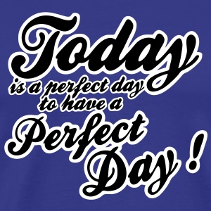 today is a perfect day Tee shirts - T-shirt Premium Homme