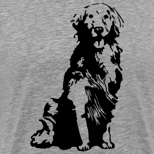 Golden Retriever - Männer Premium T-Shirt