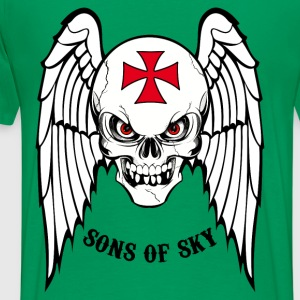 sons of sky black Tee shirts - T-shirt Premium Homme