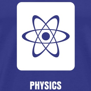 Science Icons: Atom T-Shirts - Men's Premium T-Shirt