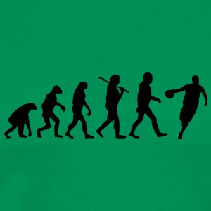 evolution of basketball T-Shirts - Men's Premium T-Shirt