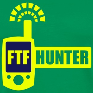 FTFHUNTER  / 2 colors Tee shirts - T-shirt Premium Homme