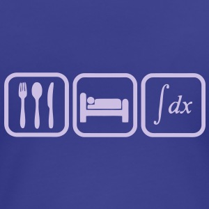 eat, sleep, calculate T-Shirts - Women's Premium T-Shirt