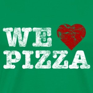 we_love_pizza_vintage_hell Tee shirts - T-shirt Premium Homme