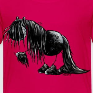 Black Pearl - Friesian Horse -  Cartoon  Shirts - Kids' Premium T-Shirt